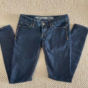 Express Dark Wash Skinny Jean
